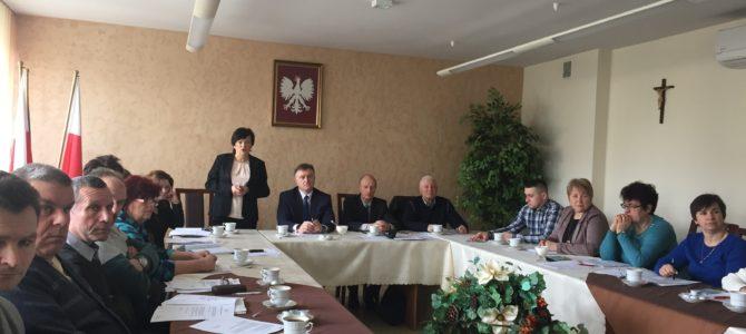 Udział w sesji Rady Gminy Jodłowa