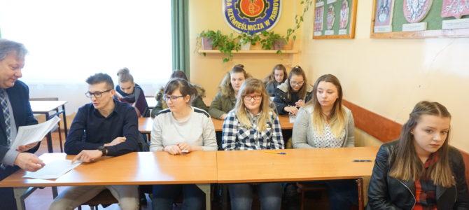 Konkurs w Rzemieślniczej Branżowej Szkole I Stopnia w Tarnowie
