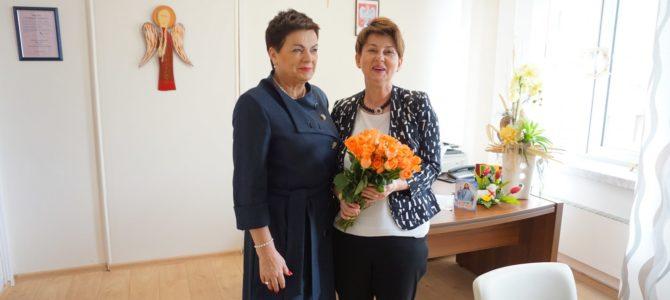 Spotkanie z Panią Małgorzatą Rauch, Podkarpackim Kuratorem Oświaty