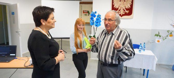 """""""Przepis na sukces"""" – spotkanie z profesorem W. Grębskim, absolwentem Liceum Ogólnokształcącego w Jodłowej"""