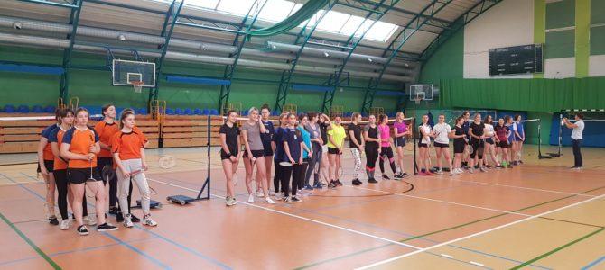 Półfinał Wojewódzki  Licealiady w badmintonie dziewcząt i chłopców